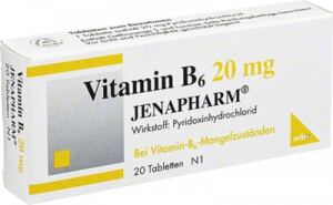 VITAMIN B6 20 mg Jenapharm Tabletten 20 St
