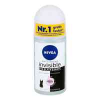 Nivea Deo Roll-on invisible black & white Clear
