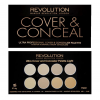 Makeup Revolution Ultra Cover and Conc. Pal. Light
