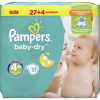 Pampers Windeln baby-dry Gr. 4+ (9-18kg)