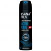ISANA men Anti-Transpirant Spray Active Cool 0.50 EUR/100 ml