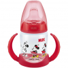 NUK Disney Mickey Mouse First Choice Trinklernflasche, rot