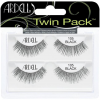 ARDELL Twin Pack 105 Echthaarwimpern Invisiband