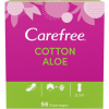 Carefree Slipeinlagen Cotton Aloe S/M