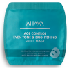 AHAVA Age Control Even Tone + Brightening Sheet Mask, 1 St