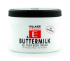 Village Body Cream Vitamin E Buttermilk, 500 ml