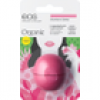 eos - Smooth Sphere Organic Lip Balm - Strawberry Sorbet - Lippenbalsam, Blister, 7 g