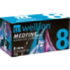 Wellion Medfine plus Pen-Nadeln 8 mm, 100 St