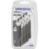 interprox plus x-maxi Interdentalbürsten, grau, 4,5-9,0 mm, 4 St